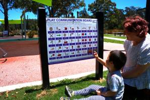 New communication boards at local parks inclusive for all Liverpool residents