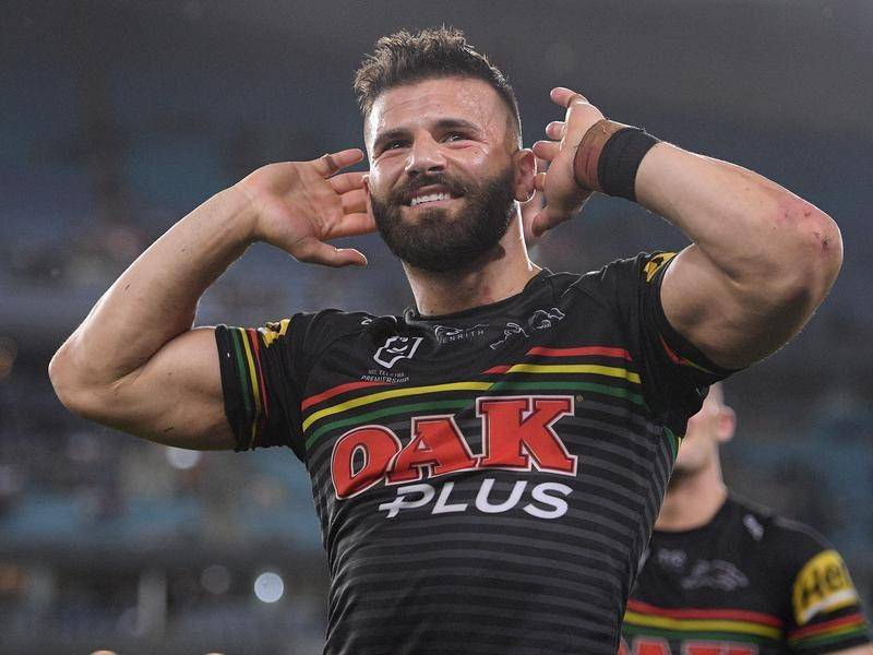 Josh Mansour's NRL career will continue with Soutb Sydney after he was released by Penrith.