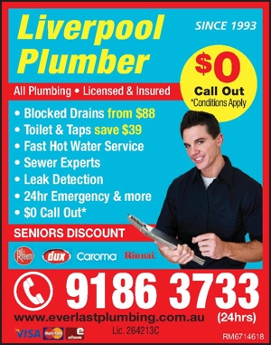 Plumbing SINCE1993AllPlumbing€Licensed&Insured€BlockedDrains